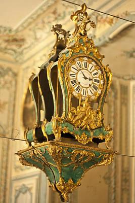 Queen's Clock Print by Georgia Fowler