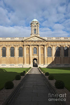 Oxford Photograph - Queen's College by Andrew  Michael