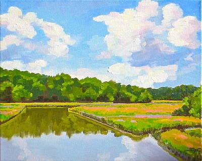 Painting - Queens Creek by Sarah Gayle Carter