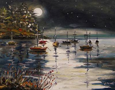 Jmwportfolio Painting - Quiet And Still Night by John Williams