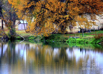 Photograph - Quiet Autumn Day by Carol Groenen