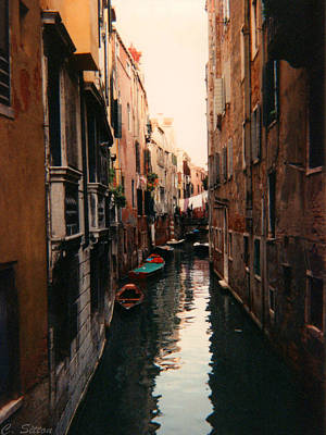 Photograph - Quiet Canal by C Sitton
