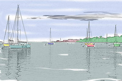 Photograph - Quiet Day For Sailing by Ericamaxine Price