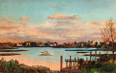 Quietude Painting - Quiet Harbor by Robert Harvey