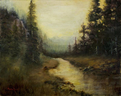 Painting - Quiet Sounds by Rene Hart