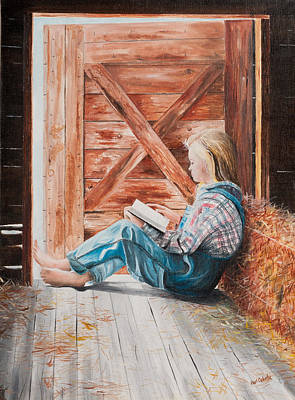 Painting - Quiet Time by Paul Cubeta