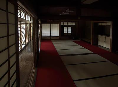 Quietude Of Zen Meditation Room - Kyoto Japan Art Print by Daniel Hagerman