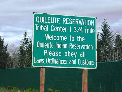 Photograph - Quileute Reservation La Push by Kelly Manning