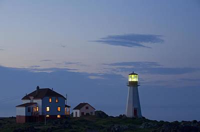 Jul08 Photograph - Quirpon Island Lighthouse, Newfoundland by John Sylvester