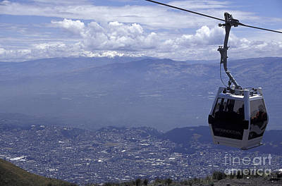 Photograph - Quito Aerial Tram South America by John  Mitchell
