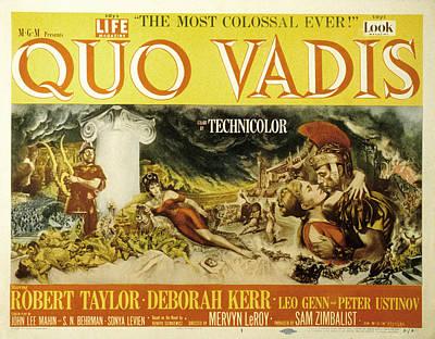 Posth Photograph - Quo Vadis, Peter Ustinov, Patricia by Everett