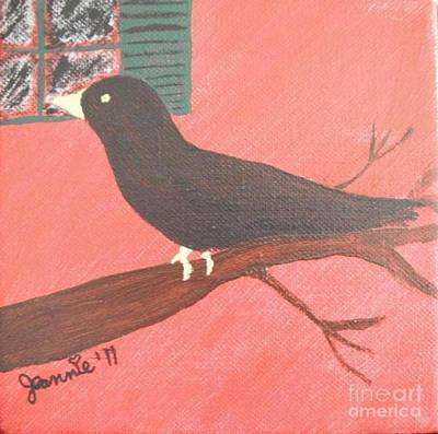 Quoth The Raven Evermore Original by Jeannie Atwater Jordan Allen