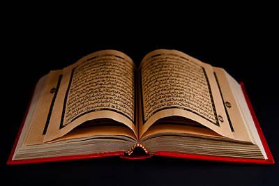Scripture Photograph - Quran by Tom Gowanlock