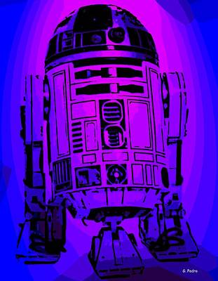Photograph - R2 D2 by George Pedro