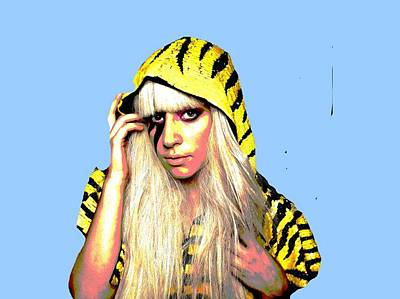 Lady Gaga Art Digital Art - Ra Ra  by Chandler  Douglas