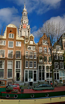 Photograph - Raamgracht 19. Amsterdam by Juan Carlos Ferro Duque