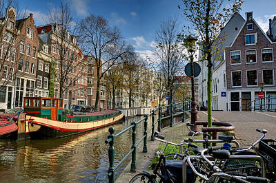 Photograph - Raamgracht And Groenburgwal. Amsterdam by Juan Carlos Ferro Duque