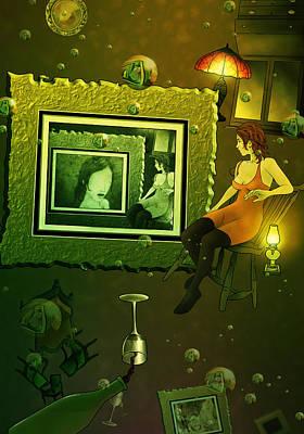 Rabbit Hole Art Print by Aaron Rutten