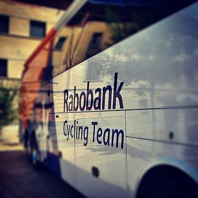 Cycling Photograph - Rabobank Cycling Team by Jorge Vargas