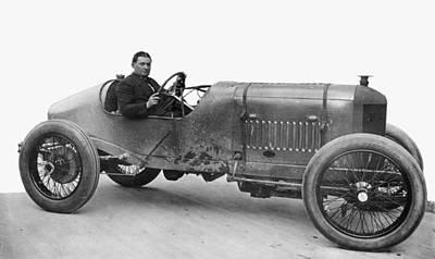 Photograph - Race Car, 1914 by Granger