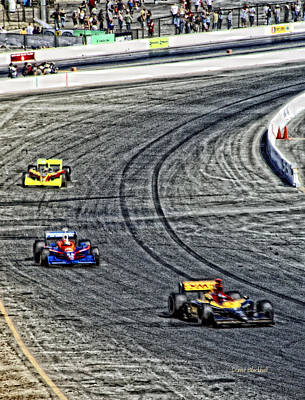Photograph - Race Day by Donna Blackhall