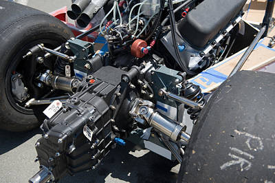 Photograph - Race Engine by Gary Rose