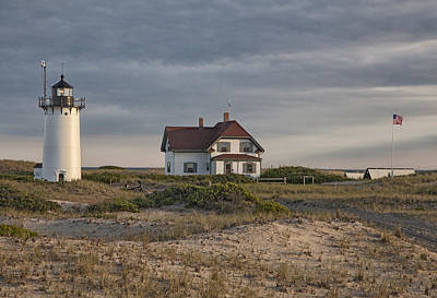 Race Point Lighthouse Art Print by Nicholas Palmieri