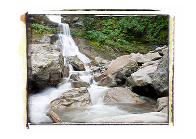 Photograph - Racehorse Falls 2 by Lannie Boesiger