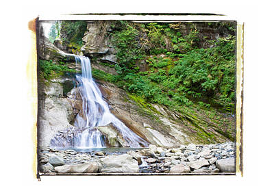 Photograph - Racehorse Falls by Lannie Boesiger