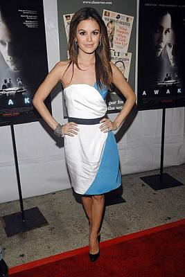 Rachel Bilson Wearing An Abaete Dress Print by Everett