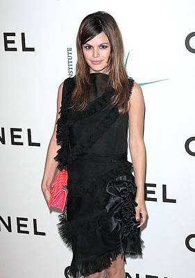 Rachel Bilson Wearing Chanel Art Print by Everett