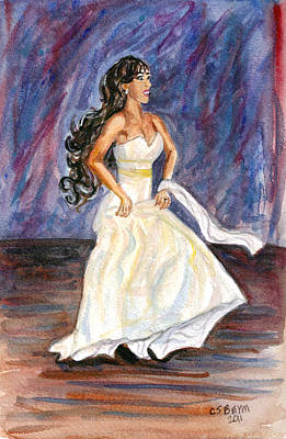 Painting - Rachel by Clara Sue Beym