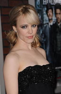Alice Tully Hall At Lincoln Center Photograph - Rachel Mcadams At Arrivals For Sherlock by Everett
