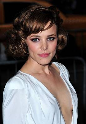 Smoky Eyes Photograph - Rachel Mcadams At Arrivals For The Time by Everett