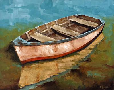 Painting - Racien Llegado by Jose Romero