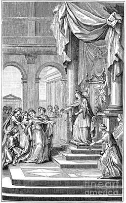 Queen Esther Photograph - Racine: Esther, 1689 by Granger
