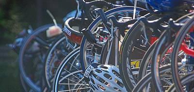 Racing Bikes Art Print