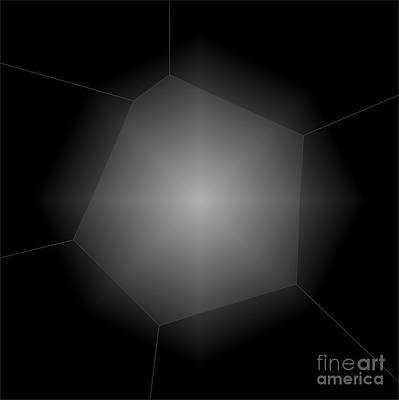 Radiance - Abstract Art Art Print