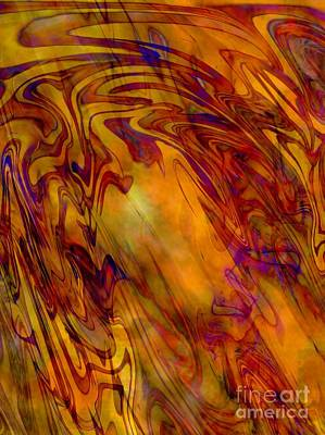 Radiant - Abstract Art Art Print
