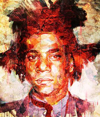 Basquiat Photograph - Radiant Child by J- J- Espinoza