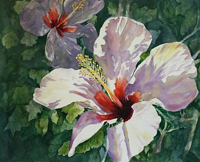 Radiant Light - Hibiscus Art Print