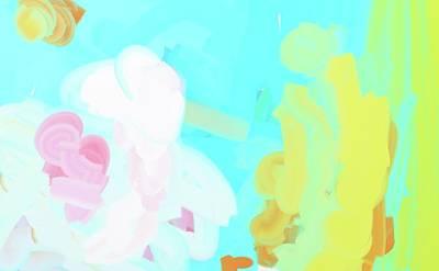 Radiant Water Libation Art Print