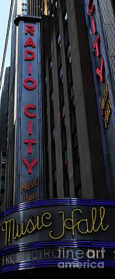 Photograph - Radio City Music Hall Cirque Du Soleil II by Lee Dos Santos