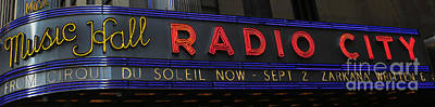 Photograph - Radio City Music Hall Cirque Du Soleil Zarkana II by Lee Dos Santos