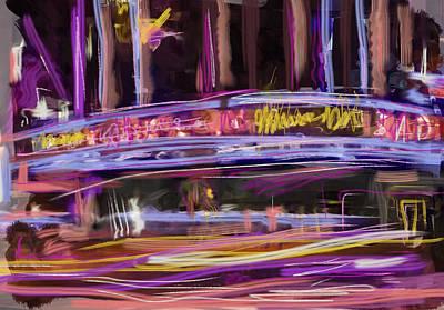 Mixed Media - Radio City by Russell Pierce