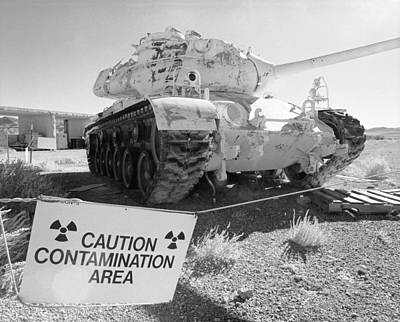 Photograph - Radioactive Tank At Frenchman Flat by Jan W Faul