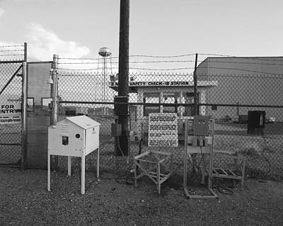 Photograph - Radioactivity Monitors Area 25 by Jan W Faul