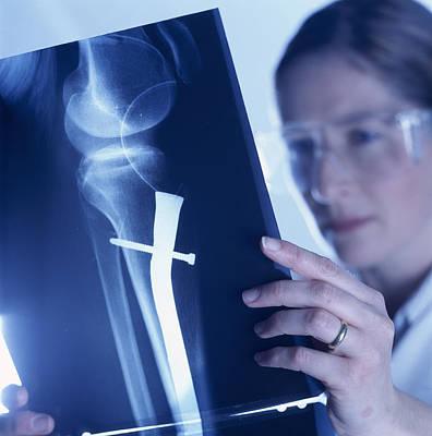 Radiologist Art Print by Tek Image