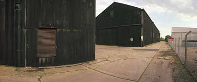 Raf Eye Hangars Original by Jan W Faul
