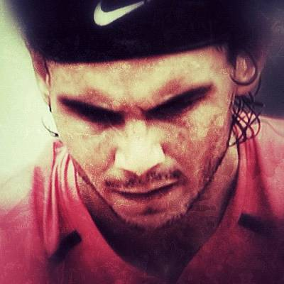 Celebrities Wall Art - Photograph - Rafa Nadal by Manuel M Almeida